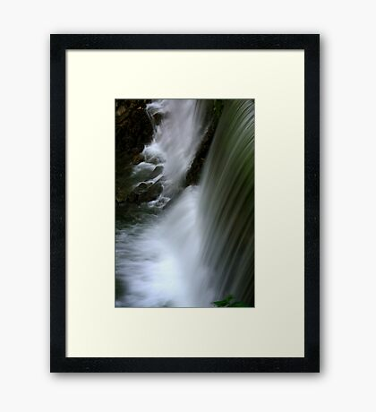 Save Water Save Life Framed Print