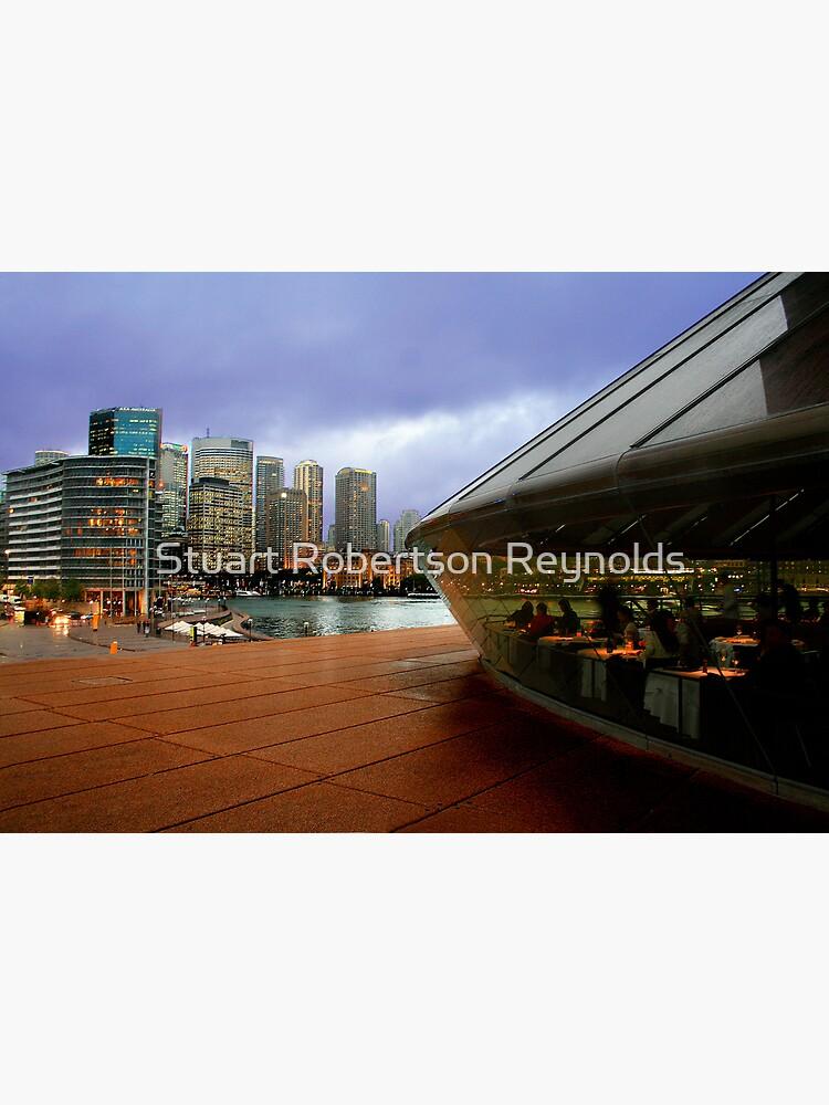 Guillaume at Bennelong, Sydney Opera House, Australia. by Sparky2000