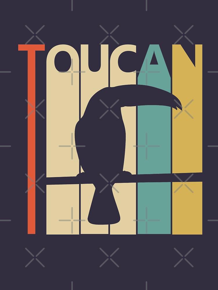 Vintage Retro Toucan by polveri