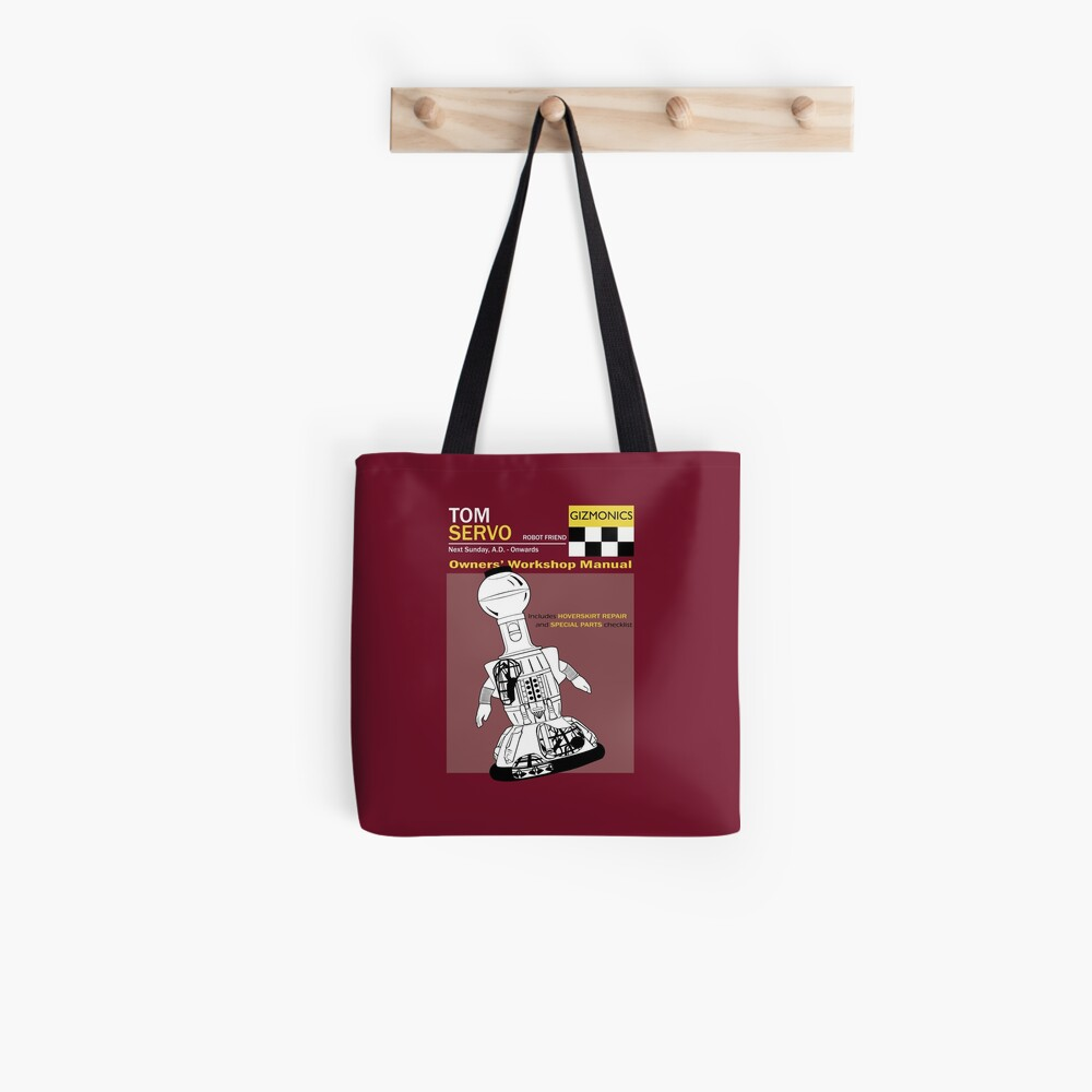 Servo Workshop Manual Tote Bag