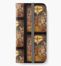 Crucifixion Scene c1711 iPhone Wallet/Case/Skin