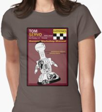 Servo Workshop Manual Women's Fitted T-Shirt