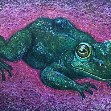 Original art frog shirt by audross