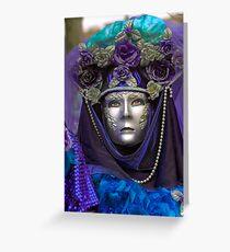 Venice - Carnival  Mask Series 09 Greeting Card