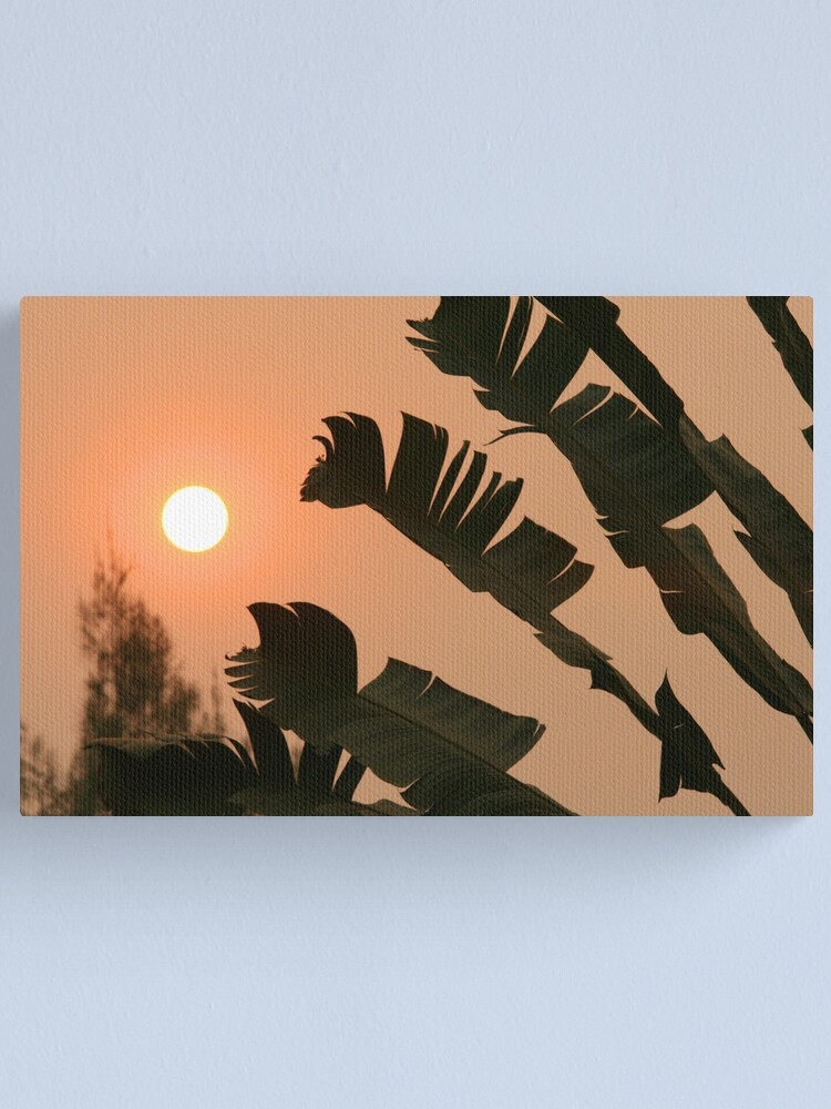 Alternate view of Thai Sunset Canvas Print