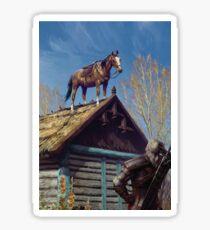 Witcher 3 Roach Sticker