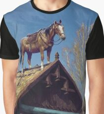 Witcher 3 Roach Graphic T-Shirt