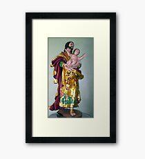Lovely statuary Framed Print