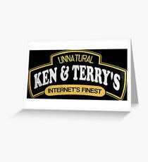 Ken and Terrys Greeting Card