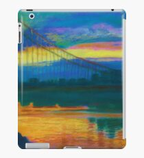 The George Washington Bridge At Sunset iPad Case/Skin