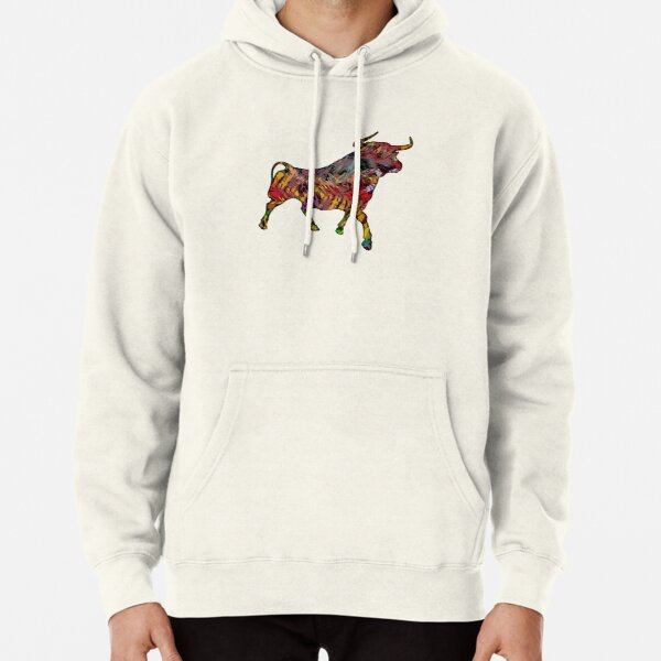 The Painted Bull Pullover Hoodie