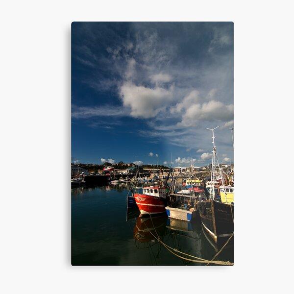Kilkeel Harbour Metal Print