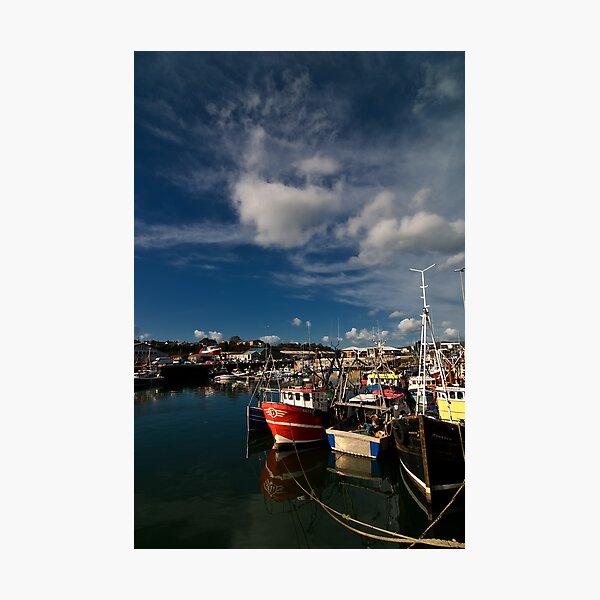 Kilkeel Harbour Photographic Print