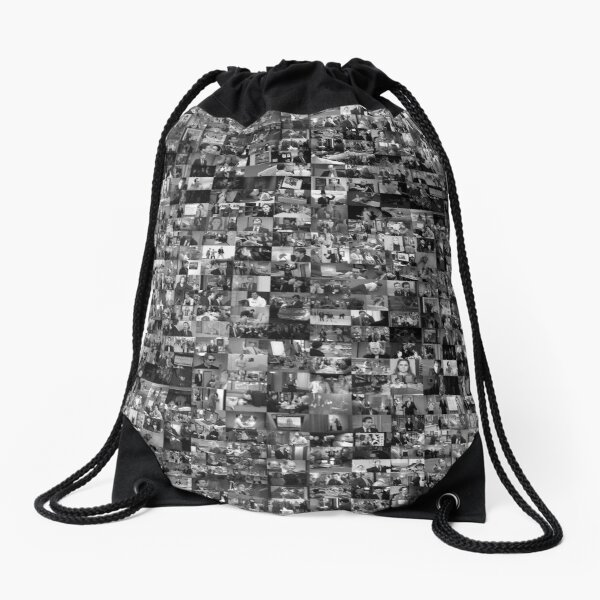 Every Episode of The Office Drawstring Bag