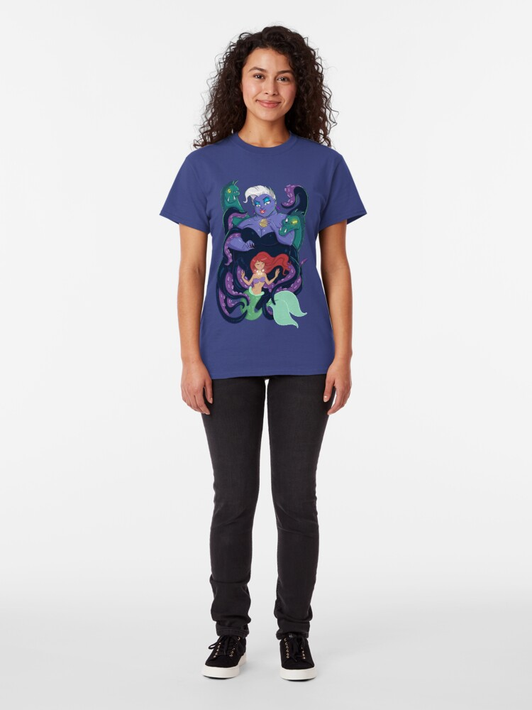 Alternate view of Poor Unfortunate Soul Classic T-Shirt