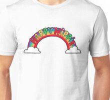 Happy Hippie: Logo Unisex T-Shirt