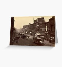 Historical cityscape Greeting Card