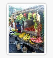Positano Fruit stand  Sticker