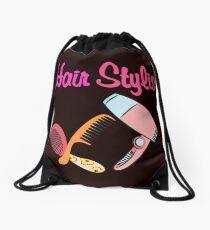 Hair stylist Drawstring Bag