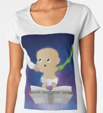 Captain Dad (only baby) Women's Premium T-Shirt