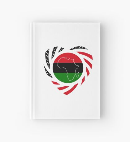 Black Murican Patriot Flag Series 2.0 Hardcover Journal