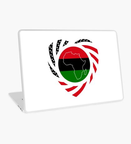 Black Murican Patriot Flag Series 2.0 Laptop Skin