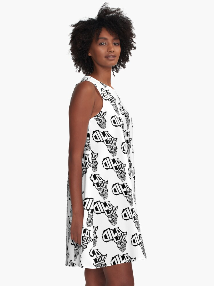 Alternate view of DILO LOUD: Africa Third Culture Series A-Line Dress