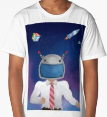 Captain Dad (only dad) Long T-Shirt