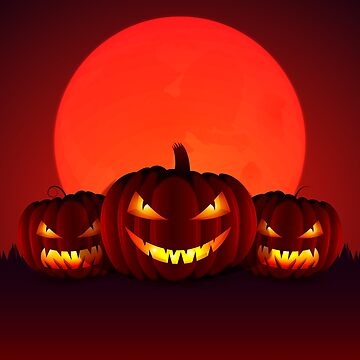 Happy Halloween Angry Pumpkins by CreatedProto