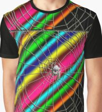 Space traveling spider Graphic T-Shirt