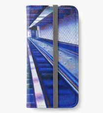 The 181 St Escalators In Washington Heights iPhone Wallet/Case/Skin