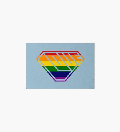 Love SuperEmpowered (Rainbow) Art Board
