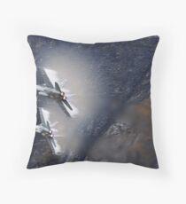 FA18 Hornet – Swiss Air Force Throw Pillow