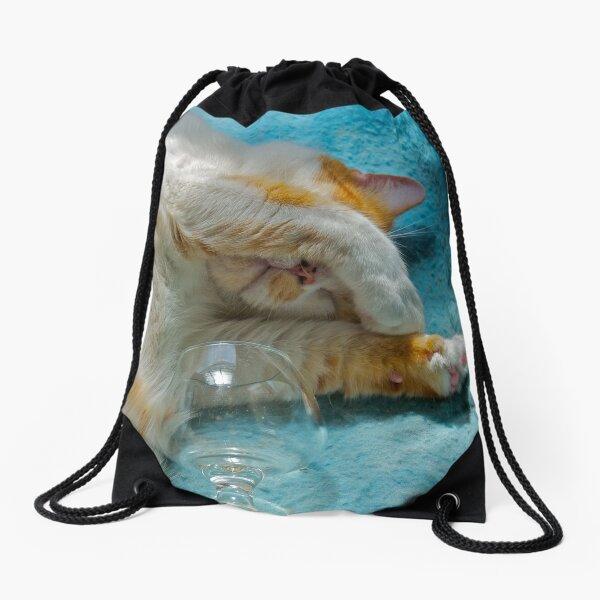 Rough Night Drawstring Bag