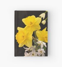 Spring Flowers Hardcover Journal