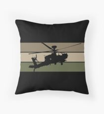 Apache Helicopter Floor Pillow