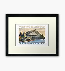 Sydney Harbour Framed Print