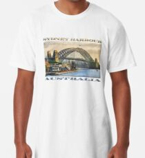 Sydney Harbour Long T-Shirt