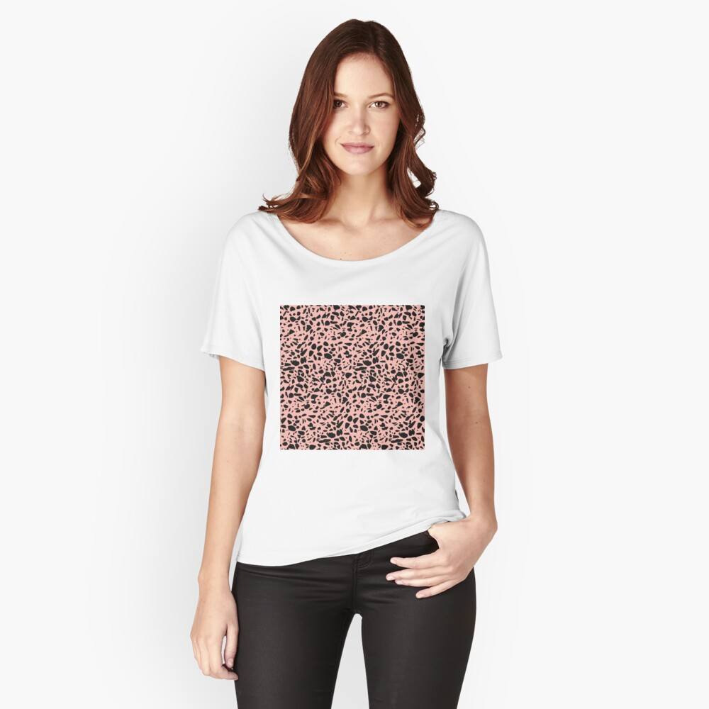 Sunset road Terrazzo  Women's Relaxed Fit T-Shirt Front