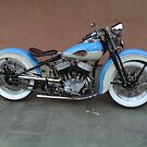 Pure Art - Harley Davidson 1942 WLA by PaulsPlace
