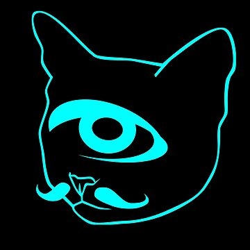 Cyclops cat tomcat kitty by phys