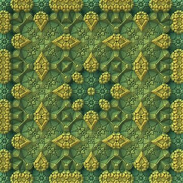 Green Fields 3-D Fractal by lyle58