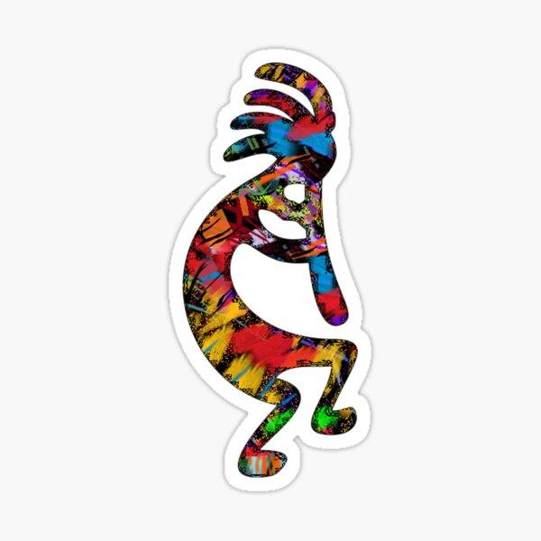 The Flutist Sticker