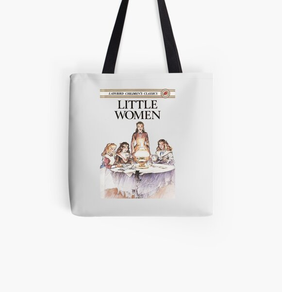 Little Women Louisa May Alcott First Edition Book Cover All Over Print Tote Bag