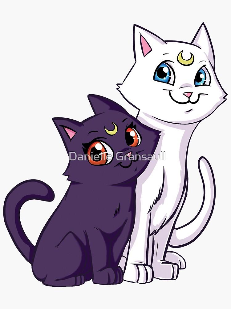 Luna and Artemis by dsoloud
