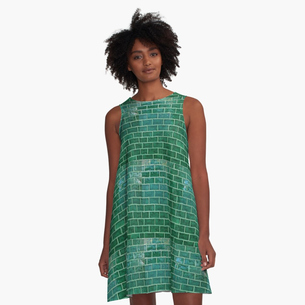 A day on the tiles  A-Line Dress