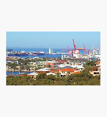 Fremantle Harbour Photographic Print
