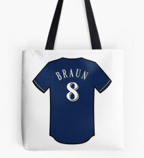 Ryan Braun Jersey Tote Bag