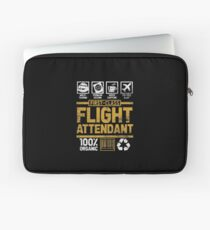 flight attendant Laptop Sleeve