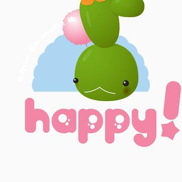 Happy Cactus by kefran